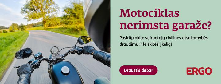 Motociklų privalomas draudimas